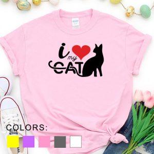 Kaos Valentine I Love My Cat Pet Lover by DistroJakarta.com