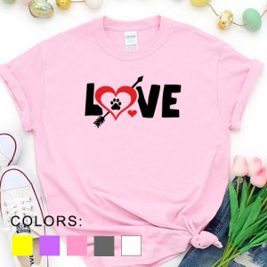 Kaos Valentine Love Pet Lover by DistroJakarta.com
