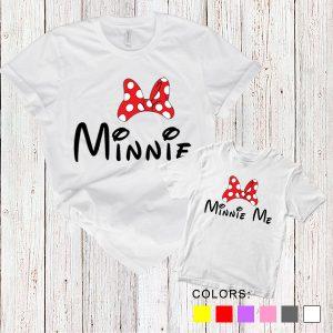 Kaos Couple Ibu dan Anak Minnie. Minnie Me. by DistroJakarta.com
