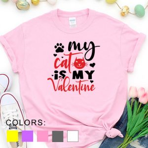 Kaos My Cat Is My Valentine Pet Lover by DistroJakarta.com