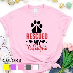 Kaos Rescued My Valentine Pet Lover by DistroJakarta.com