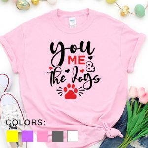 Kaos Valentine You Me and The Dogs Pet Lover by DistroJakarta.com