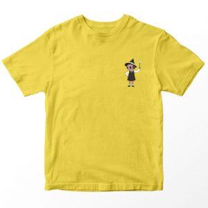 Kaos Summer Camp Island Alice Pocket, Warna Kuning Umur 1-10 Tahun by DistroJakarta.com