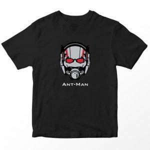 Kaos Superhero Marvel Antman, Warna Hitam Umur 1-10 Tahun by DistroJakarta.com
