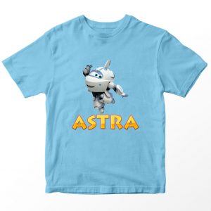 Kaos Super Wings Astra, Biru Muda Umur 1-10 Tahun by DistroJakarta.com