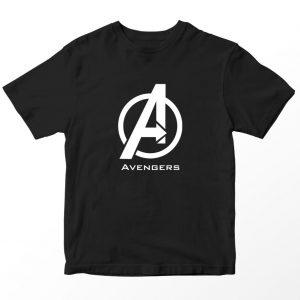 Kaos Superhero Marvel Avengers, Warna Hitam Umur 1-10 Tahun by DistroJakarta.com