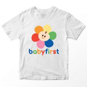 Kaos Babyfirst, Warna Putih Umur 1-10 Tahun by DistroJakarta.com