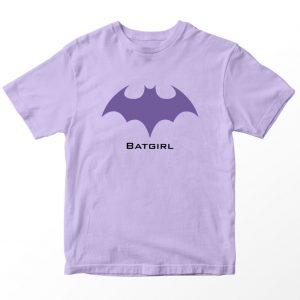 Kaos DC Superhero Batgirl, Warna Lilac Ungu Umur 1-10 Tahun by DistroJakarta.com
