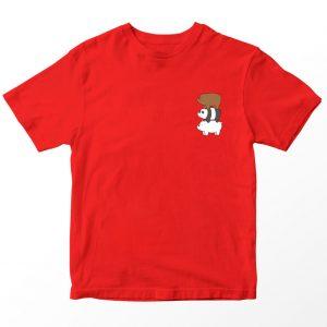 Kaos We Bare Bears Bear Stack Pocket, Warna Kuning Umur 1-10 Tahun by DistroJakarta.com