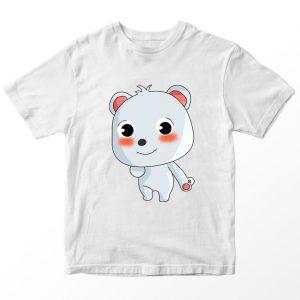 Kaos Baby Bus Bei, Warna Putih Umur 1-10 Tahun by DistroJakarta.com