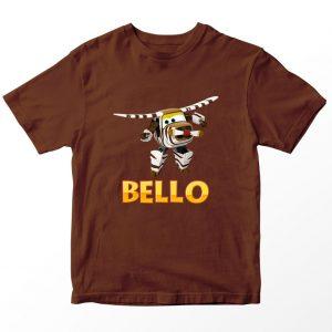 Kaos Super Wings Bello, Coklat Umur 1-10 Tahun by DistroJakarta.com