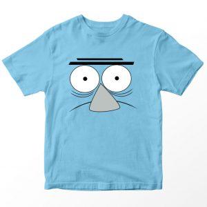Kaos Mordecai Rigby Benson, Warna Biru Muda Umur 1-10 Tahun by DistroJakarta.com