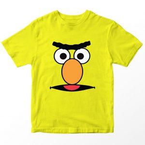 Kaos Sesame Street Bert, Warna Kuning Umur 1-10 Tahun by DistroJakarta.com