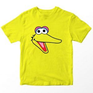 Kaos Sesame Street Big Bird, Warna Kuning Umur 1-10 Tahun by DistroJakarta.com