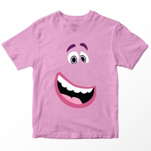 Kaos Inside Out Bing Bong, Warna Pink Umur 1-10 Tahun by DistroJakarta.com