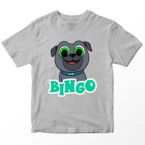 Kaos Puppy Dog Pal Bingo Kartun, Warna Abu-abu Umur 1-10 Tahun by DistroJakarta.com