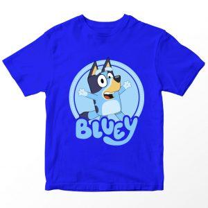 Kaos Bluey, Warna Biru Umur 1-10 Tahun by DistroJakarta.com