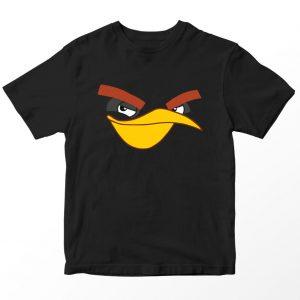 Kaos Angry Birds Bomb Burung Hitam, Warna Hitam, Umur 1-10 Tahun by DistroJakarta.com
