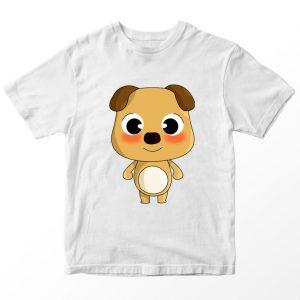 Kaos Baby Bus Bryan, Warna Putih Umur 1-10 Tahun by DistroJakarta.com