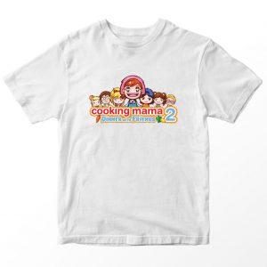 Kaos Cooking Mama Friends Kartun, Warna Putih Umur 1-10 Tahun by DistroJakarta.com
