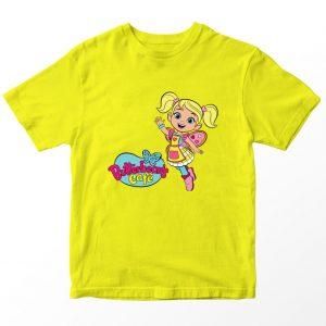 Kaos Butter Bean's Cafe Cricket Logo Kartun, Putih 1-10 Tahun by DistroJakarta.com