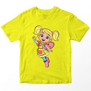 Kaos Butter Bean's Cafe Cricket Butterbeans, Kuning 1-10 Tahun by DistroJakarta.com