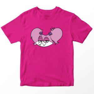 Kaos Puppy Dog Pal Cupcake 2, Warna Pink Fushia Umur 1-10 Tahun by DistroJakarta.com