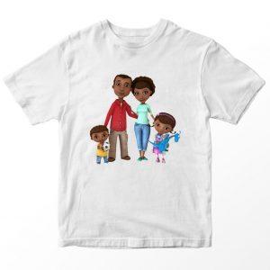 Kaos Doc McStuffin Keluarga, Warna Putih Umur 1-10 Tahun by DistroJakarta.com