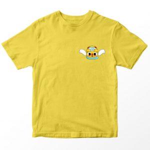 Kaos Baby Bus Dudu, Warna Kuning Pocket Logo Umur 1-10 Tahun by DistroJakarta.com