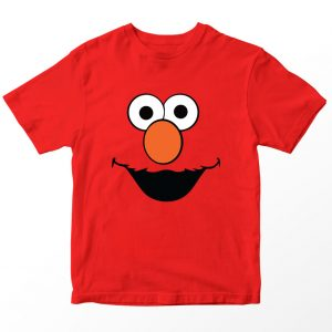 Kaos Sesame Street Elmo, Warna Merah Umur 1-10 Tahun by DistroJakarta.com