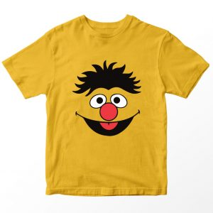 Kaos Sesame Street Ernie, Warna Kuning Mustard Umur 1-10 Tahun by DistroJakarta.com