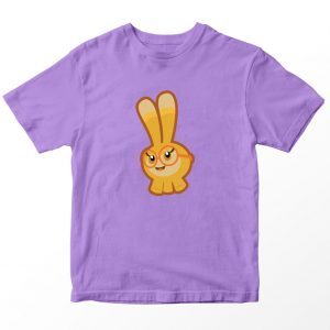 Kaos Abby Hatcher Fa Squeaky Peepers, Warna Lilac Ungu 1-10 Tahun by DistroJakarta.com