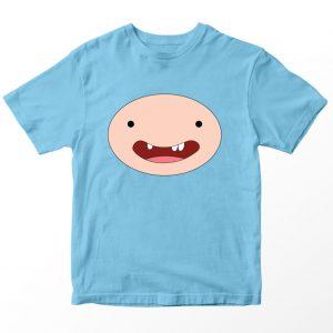Kaos Adventure Time Finn, Warna Putih Umur 1-10 Tahun by DistroJakarta.com