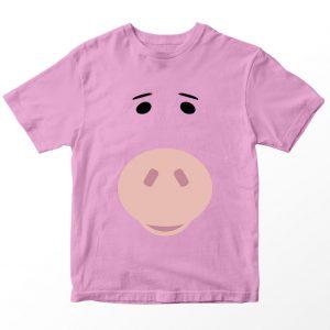 Kaos Toy Story Hamm Babi, Warna Pink Umur 1-10 Tahun by DistroJakarta.com
