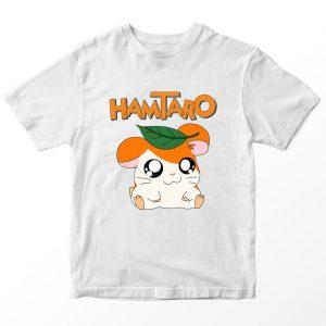 Kaos Hamtaro, Warna Putih, Umur 1-10 Tahun by DistroJakarta.com