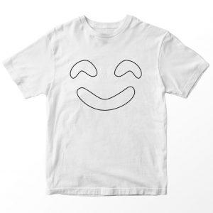Kaos Mordecai Rigby Hi 5 Ghost Hantu Tos, Warna Putih Umur 1-10 Tahun by DistroJakarta.com