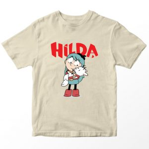 Kaos Hilda Netflix, Warna Krem Umur 1-10 Tahun by DistroJakarta.com