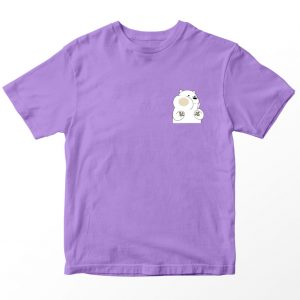 Kaos We Bare Bears Ice Bear, Warna Putih Umur 1-10 Tahun by DistroJakarta.com