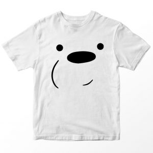 Kaos We Bare Bears Panda Nabrak Kaca, Warna Pink Umur 1-10 Tahun by DistroJakarta.com