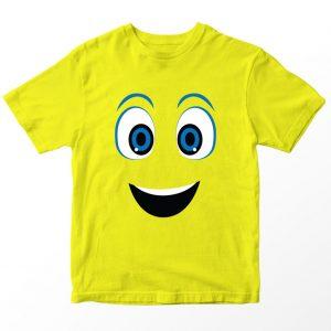 Kaos Inside Out Joy, Warna Kuning Umur 1-10 Tahun by DistroJakarta.com