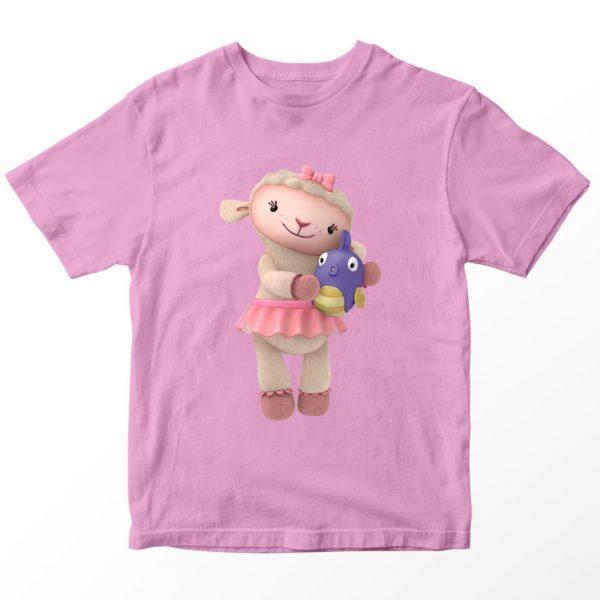 Kaos Doc McStuffin Lambie, Warna Pink Umur 1-10 Tahun by DistroJakarta.com