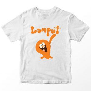Kaos Lamput Logo, Warna Putih Umur 1-10 Tahun by DistroJakarta.com
