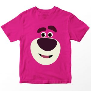 Kaos Toy Story Lotso Beruang, Warna Pink Fushia Umur 1-10 Tahun by DistroJakarta.com