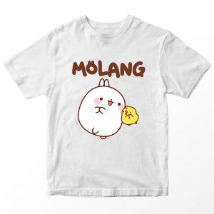 Kaos Molang, Warna Putih Umur 1-10 Tahun by DistroJakarta.com