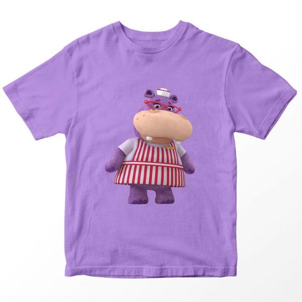 Kaos Doc McStuffin Nurse Hallie, Warna Lilac Ungu Umur 1-10 Tahun by DistroJakarta.com