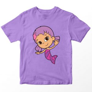 Kaos Bubble Guppies Oona Kartun, Lilac Ungu Muda 1-10 Tahun by DistroJakarta.com