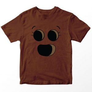 Kaos Gumball Penny Fitzgerald , Warna Coklat Umur 1-10 Tahun by DistroJakarta.com