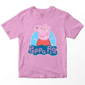 Kaos Peppa Pig, Warna Pink Umur 1-10 Tahun by DistroJakarta.com