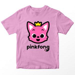 Kaos Pinkfong, Warna Pink Umur 1-10 Tahun by DistroJakarta.com