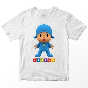 Kaos Pocoyo Kartun 2, Warna Biru Muda Umur 1-10 Tahun by DistroJakarta.com